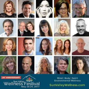 Arianna Huffington keynote, Sondra Sneed at the Sun Valley Wellness Festival