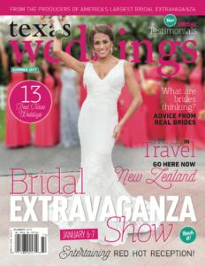 Texas Weddings' Magazine Summer 17 issue