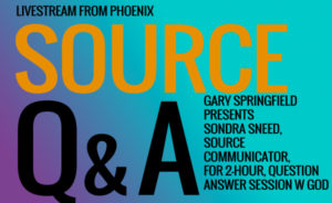 Sondra Sneed performs a QA-SOURCE - hosted by Gary Springfield