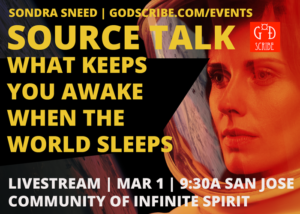 Livestream | Source Talk | San Jose | March 1 | How to Stay Awake When the World Sleeps